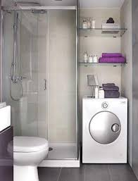 Glass Showers For Small Bathrooms Bathroom Small Bathroom With Clear Shower Wall Divider Also