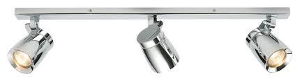 saxby lighting 39168 knight bar ip44 3 x 35w spotlight bathroom