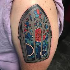 77 striking stained glass tattoo ideas that will blow your mind