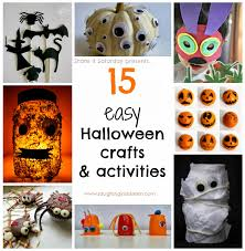 easy halloween crafts easy halloween activities for kids u2013 fun for halloween