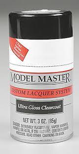 testors model master spray ultra gloss clearcoat 3 oz