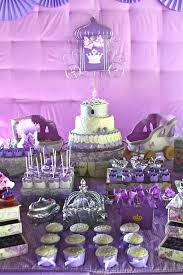 sofia the party ideas purple princess party two pink canaries