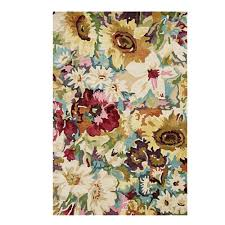 area rugs home decorators home decorators collection garden party multi 5 ft 3 in x 8 ft