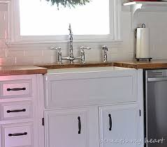 Cheap Farmhouse Kitchen Sinks Fireclay Farmhouse Sinks Durability And Quality Beneath My