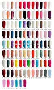 shellac gel nail polish color chart u2013 popular manicure in the us blog