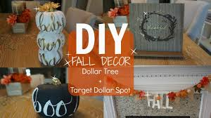 diy fall decor part 1 dollar tree u0026 target dollar spot youtube