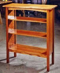 Wood Bookcase Plans Arts And Crafts Bookcase Plans U2022 Woodarchivist