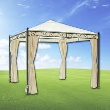 tende gazebi gazebo formia 3x3 mt con tende lateral mondobrico giardino