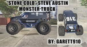 monster truck show austin stone cold steve austin monster truck gta5 mods com