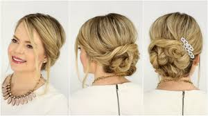 soft updo hairstyles soft twisted updo prom hairstyle missy sue youtube