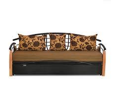 Elmo Sofa Chair Buy Elmo Sofa Bed With Storage Home By Nilkamal Black