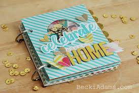 we r memory keepers albums becki create a mini album with the hsn we r memory keepers