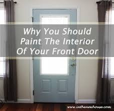 painted interior entry doors in the new house designs