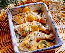 cuisiner des cuisse de poulet cuisse de poulet au citron et aux herbes rapide recette de