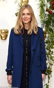 donna air stuns in elegant overcoat at bafta bash in london