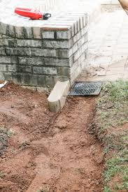 easy diy french drain bower power