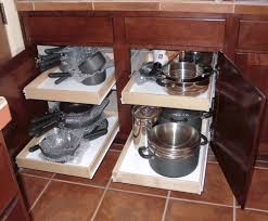 Kitchen Cabinet Slide Out Organizers by Roll Out Drawers For Kitchen Cabinets Gramp Us