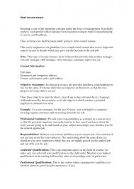 Retail Resume Templates Retail Resume Examples Retail Executive Resume Example Sample