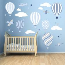 Wall Decoration With Balloons by Air Balloon Wall Stickers Enchanted Interiors