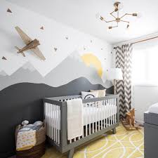 20 gray and yellow nursery designs with refreshing elegance view in gallery custom wall mural combines just a hint of yellow with shades of gray design