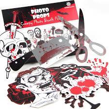 themed photo booth pack of 22 photo booth props scary and unique