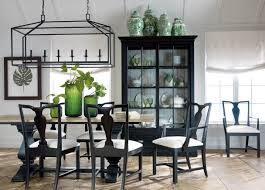 lighting traditional dining room design with rustic dining table