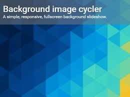 div background url simple responsive background image cycler with jquery free