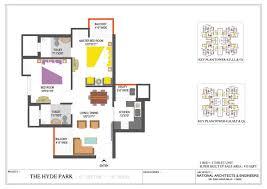 floor plan iitl nimbus group the hyde park at sector 78 noida