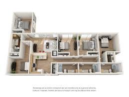 five bedroom floor plan floor plans the corner