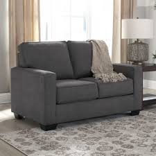 Ashley Furniture Leather Loveseat Living Room Dual Reclining Loveseat Double Recliner Sofa