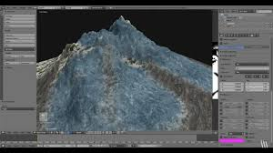 tutorial blender terrain creating a terrain with texture painting in blender cg tutorial