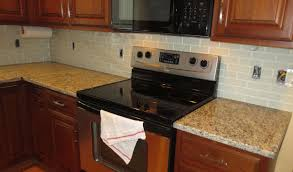 How To Do Backsplash Tile In Kitchen by How To Install A Glass Tile Kitchen Backsplash Parts 1 U0026 2 Youtube