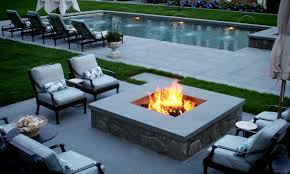 diy outdoor gas fireplace blue flame with contemporary outdoor gas
