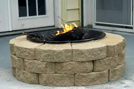 Composite Patio Pavers by Insider Concrete Paver Fire Pit Garden Landscape