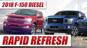 2018 f 150 gets facelift and diesel option youtube