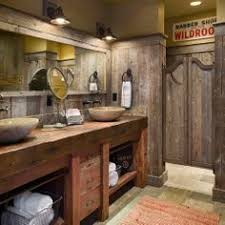 Houzz Bathroom Vanity by Reclaimed Barnwood Open Vanity Rustic Bathrooms Vanities And Cabin