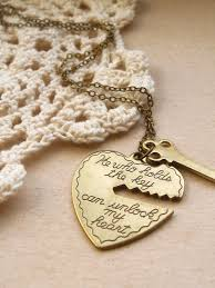key to my heart gifts you hold the key to my heart necklace charm necklace