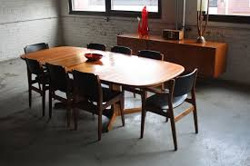 Mid Century Dining Table And Chairs Special Mid Century Modern Dining Table All Modern Home Designs