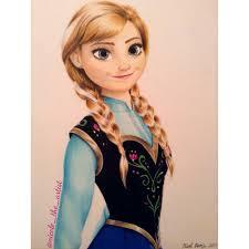 drawing anna frozen instagram nicole artist