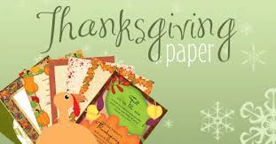 thanksgiving paper thanksgiving stationery