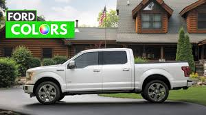 2015 ford f150 paint colors youtube