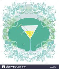 cocktail party invitation card stock photo royalty free image