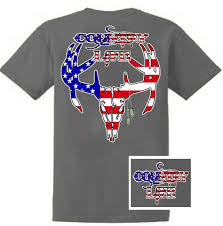 American Flag Skull Country Life Outfitters Usa American Flag Deer Skull Head Vintage