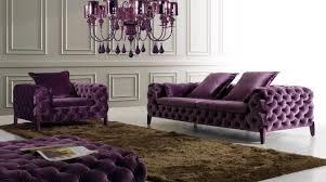 canapé chesterfield violet decoration canapé fauteuil chesterfield violet variante lustre