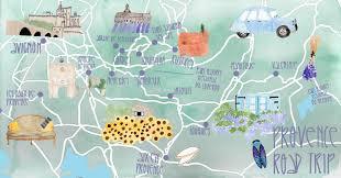 South Of France Map by I Diari Della Lambretta Lambretta En Provence Honeymoonin U0027 On