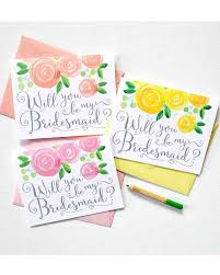 bridesmaid cards 12 will you be my bridesmaid cards we martha stewart