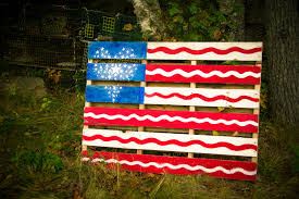 Pallet American Flag Usa Flag Pallet Free Stock Photo Public Domain Pictures