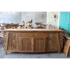 carved indonesian buffet with drawers from gadogado com