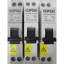 clipsal single pole 20amp 6ka safety switch rcd mcb rcbo