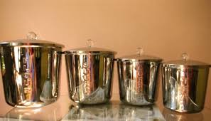 stainless steel kitchen canister functional kitchen canisters storage and organization